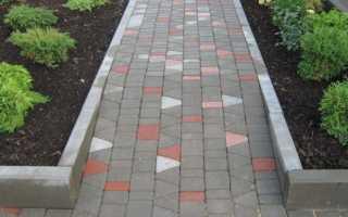 Цементная смесь для укладки тротуарной плитки