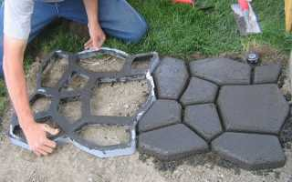 Смесь для производства тротуарной плитки