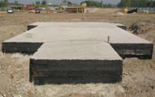 Плитный фундамент для дома из газобетона