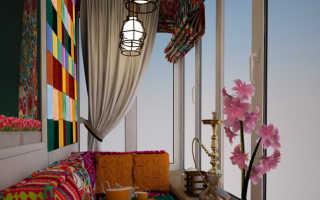 Декоративный балкон на окна
