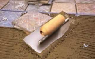 Смеси для укладки кафельной плитки