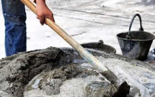 Содержание цемента в 1 м3 бетона