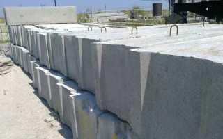 Размеры цементного блока