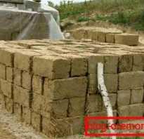 Блоки из глины и цемента