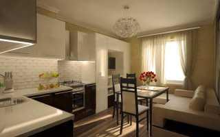 Проект кухня гостиная 15 кв м