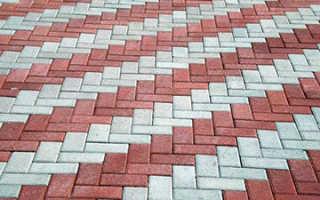 Способы укладки плитки тротуарной
