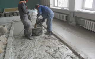 Какая марка бетона для стяжки пола
