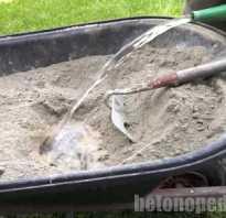 Вода для бетонов и строительных растворов