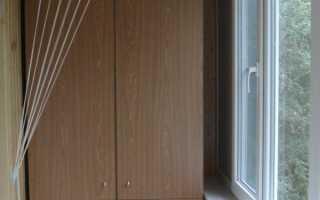 Раздвижная сушилка на балкон