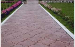 Тротуарная плитка кленовый лист укладка