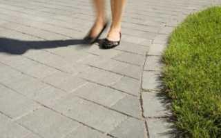 Технология укладки тротуарной плитки на сухую смесь