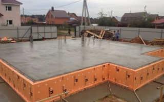 Как рассчитать объём бетона для монолитной плиты