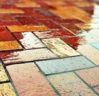 Материалы для укладки тротуарной плитки