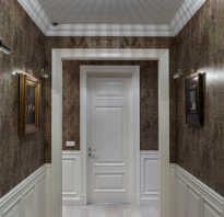 Отделка коридора в квартире панелями фото