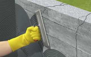 Цементный раствор для гидроизоляции