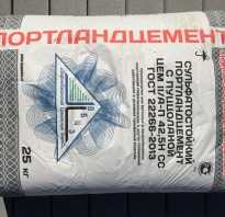 Бетон на сульфатостойком цементе