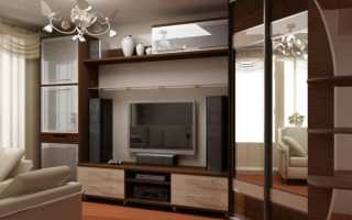 Угловые гостиные стенки для зала