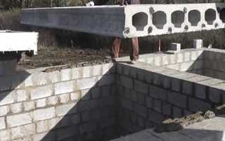 Перекрытие из керамзитобетона своими сделать белый цементный раствор