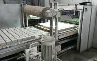 Производство бордюрной плитки