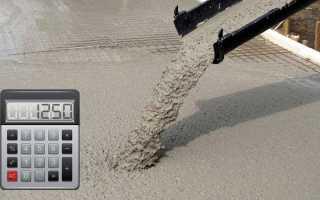 Сколько нужно бетона для заливки фундамента