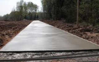 Тощий бетон укладка