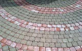 Почему белеет тротуарная плитка