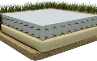 Толщина плитного фундамента для дома из газобетона
