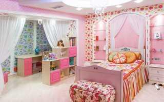 Детская комната для девочки картинки