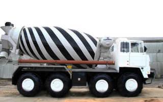 Машина которая возит цемент