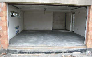 Марка бетона для стяжки пола гаража