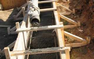 Вычислить объем бетона для фундамента