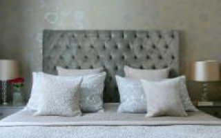 Спальня мебель коричневая какие обои