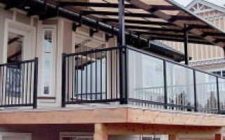 Дома с открытыми балконами