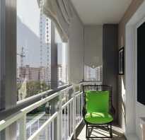Кресло кровать на балконе