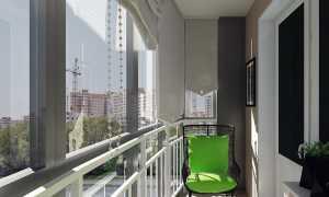 Качели на балконе