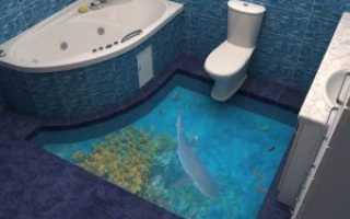 Как залить цементом пол в туалете