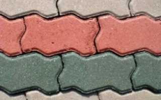Устройство покрытий из брусчатки