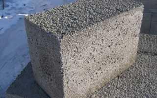 Блоки из пенопласта и цемента
