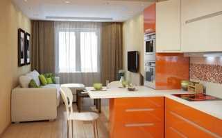 Кухня гостиная 17кв