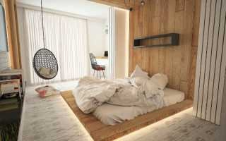 Спальня из вагонки