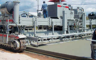 Машина для укладки бетона