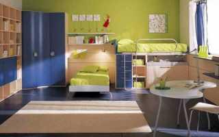 Детская комната 16 кв м