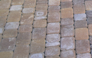 Как мыть тротуарную плитку