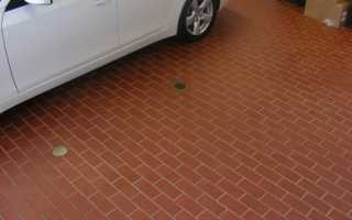 Брусчатка под автомобильную площадку