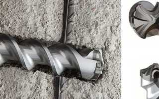 Как просверлить бетонную плиту