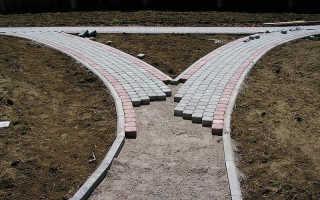 Размеры поребрика для тротуарной плитки