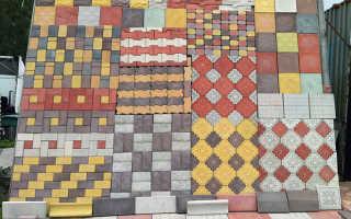 Тротуарная плитка в лобне производство