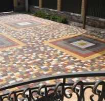 Состав бетона для тротуарной плитки