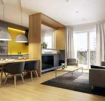 Кухня гостиная 36