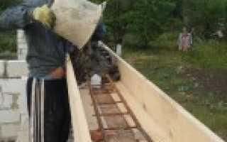 Как утрамбовывать бетон в фундаменте